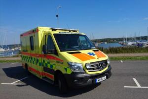 ambulans i hamnen 2019